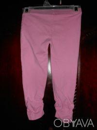 1) Розовые  леггинсы на 4 года,CARTER'S,цена-55гр. размеры:длина-42см.   ПОП-22. Киев, Киевская область. фото 5