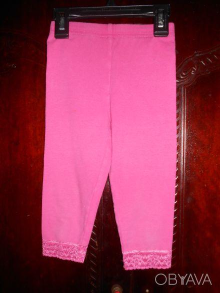 1) Розовые  леггинсы на 4 года,CARTER'S,цена-55гр. размеры:длина-42см.   ПОП-22. Киев, Киевская область. фото 1