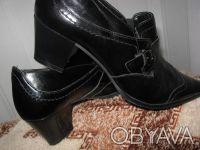 39р.Туфли кожаные