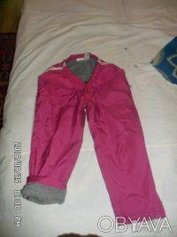 ПРодам утепленные спортивные штаны на девочку в отличном состоянии на рост 128-1. Киев, Киевская область. фото 4