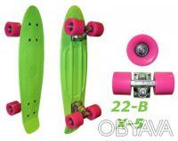 Penny 22-B X-5 пенни лонгборд скейт 56см Cruiser Fish Line skate board - Размер. Киев, Киевская область. фото 5