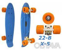 Penny 22-B X-5 пенни лонгборд скейт 56см Cruiser Fish Line skate board - Размер. Киев, Киевская область. фото 3