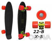 Penny 22-B X-5 пенни лонгборд скейт 56см Cruiser Fish Line skate board - Размер. Киев, Киевская область. фото 6