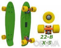 Penny 22-B X-5 пенни лонгборд скейт 56см Cruiser Fish Line skate board - Размер. Киев, Киевская область. фото 4