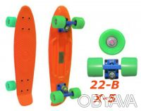 Penny 22-B X-5 пенни лонгборд скейт 56см Cruiser Fish skate board. Киев. фото 1