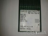 Иглы для швейных машин Groz-Beckert,  швейные иглы фирмы GROZ-BECKERT производят. Киев, Киевская область. фото 3