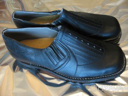 5aed91cd Внимание! Продам новые мужские кожаные туфли без шнурков. Всё-натуральное!