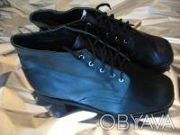 Внимание! Продам новые мужские черные кожаные ботинки на меху!. Харьков. фото 1