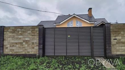 Продам шикарный участок 15 соток с домом в коттеджном посёлке на Салтовке. 602м. Харьков, Харьковская область. фото 1