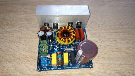 Импульсный блок питания для усилителя звука. Кельменцы. фото 1