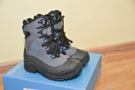 Ботинки сапоги Columbia YOUTH BUGABOOT PLUS III р.32,33. Бровари. фото 1