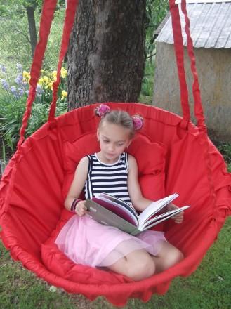 Подвесное кресло-качель для взрослых и детей. Днепр. фото 1