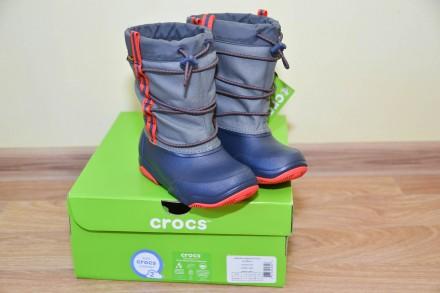 Сапоги Crocs Swiftwater Waterproof K Snow Boot р.С11 и С12. Бровари. фото 1