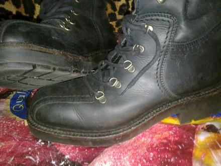 Продам байкерские ботинки мужские. Александрия. фото 1