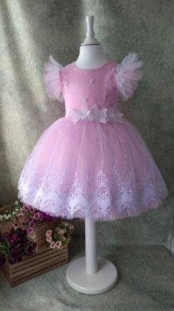 Нарядное платье для девочки на выпускной. Киев. фото 1