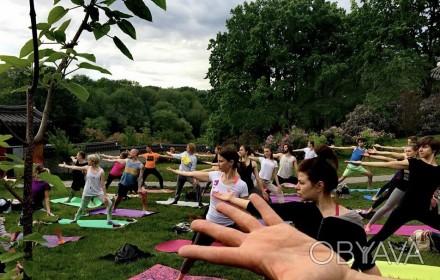 Открытие сезона «Йога в парке». 19 мая (воскресенье) открытие сезона «Йога в пар. Киев, Киевская область. фото 1