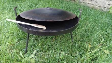 Сковорода для пикника 40 см. Сковорода для костра.. Луцк. фото 1