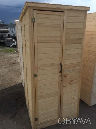 Дачный Деревянный Туалет 1м на 1м Склад