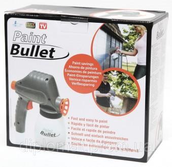 Краскораспылитель Paint Bullet (Пейнт Буллет) Вот он – самый быстрый и простой с. Одесса, Одесская область. фото 3