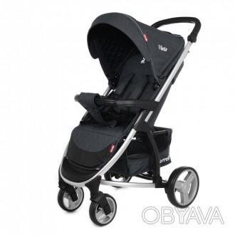 Коляска прогулочная CARRELLO Vista CRL-8505 Frost Grey
