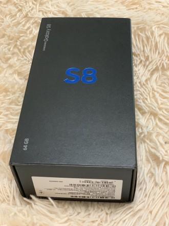 Продам Samsung s8 на две сим карты в идеальном состоянии. Полный комплект, короб. Харьков, Харьковская область. фото 2