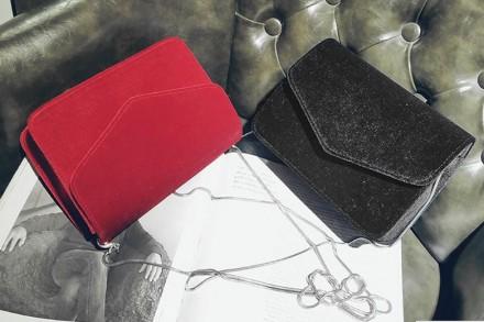 Материал текстиль Внутри один отдел  Размер сумки 20*15,5*5 см Длина цепочки 112. Запорожье, Запорожская область. фото 4