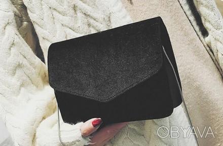 Материал текстиль Внутри один отдел  Размер сумки 20*15,5*5 см Длина цепочки 112. Запорожье, Запорожская область. фото 1