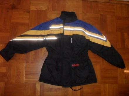 Тёплая мото-куртка дождевик POLO Road  , размер S-M ( 48-50 ). Киев. фото 1