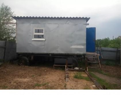 Продам строительный вагончик на ходу. Днепр. фото 1