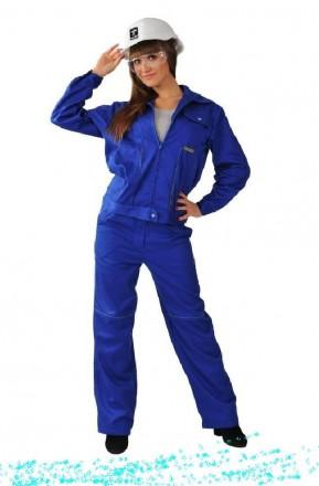 Модельный рабочий костюм , женская спецодежда. Белая Церковь. фото 1