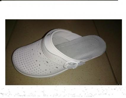 Сабо кожаные, медицинская обувь, сабо с перфорацией. Белая Церковь. фото 1