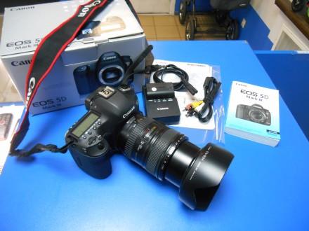 Canon EOS 5D Mark III + объектив Canon EF 24-105mm f/4L IS USM. Киев. фото 1