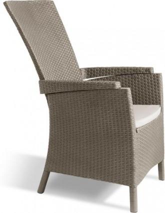 """"""" Садовое кресло Vermont """"  Усядьтесь поудобнее и расслабьтесь в прекрасном ок. Ужгород, Закарпатская область. фото 3"""