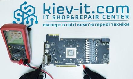 Профессиональный РЕМОНТ ВИДЕОКАРТ для ПК - KIEV-IT.COM любой сложности. Киев. фото 1