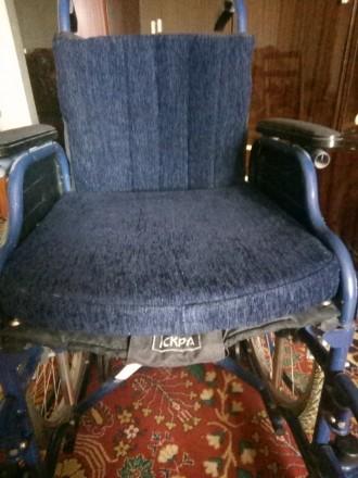 Продам инвалидную коляску, состояние новая,торг уместен,звонить по номеру телефо. Запорожье. фото 1