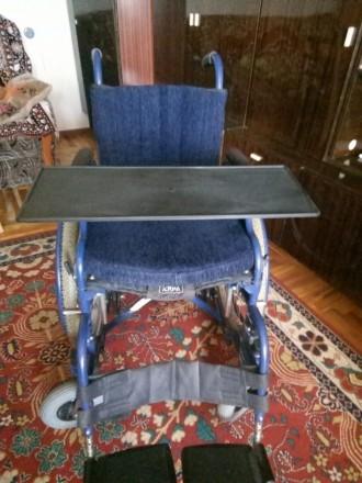 Продам инвалидную коляску, состояние новая, звонить по телефону 0677269582,09544. Запорожье, Запорожская область. фото 4