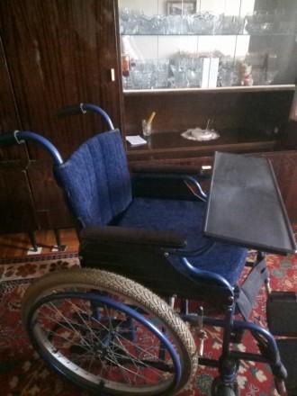 Продам инвалидную коляску, состояние новая, звонить по телефону 0677269582,09544. Запорожье, Запорожская область. фото 3