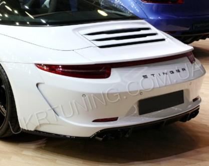 Тюнинг спойлер Porsche 911 991 2012 2013 2014 2015.. Киев. фото 1