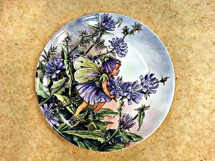 Продам настенные тарелки Цветочные феи английской фирмы Wedgwood.. Одеса. фото 1