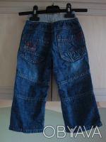 Стильные джинсы в отличном состоянии. 100% хлопок. На возраст 1-2 года, размер . Киев, Киевская область. фото 3