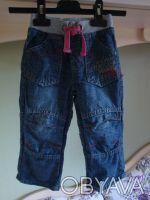Стильные джинсы в отличном состоянии. 100% хлопок. На возраст 1-2 года, размер . Киев, Киевская область. фото 2