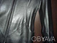 Пальто женское демисезонное /кож-зам/. Киев. фото 1