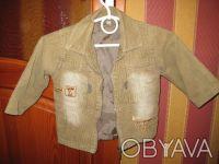 Детская курточка - пиджак 90 - 92см. Киев. фото 1