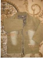 Продам вельветовую курточку на мальчика. Спереди есть карманы. Замеры:плечи -27с. Киев, Киевская область. фото 3