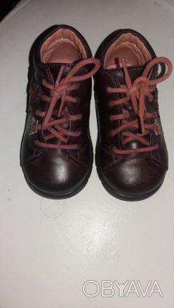 Продам ботиночки Pepino Ricosta(Германия оригинал) на девочку,р.19,по стельке 12. Чернігів, Чернігівська область. фото 1