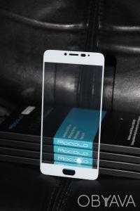 Стекло Mocolo для Meizu M3 Note Full Cover (White) Киев. Киев. фото 1