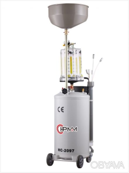 Установка для вакуумного отбора масла 80 литров бак Best HC-2097