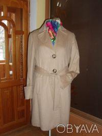 Женское однобортное пальто с поясом MNG Suite Mango оригинал. Киев. фото 1