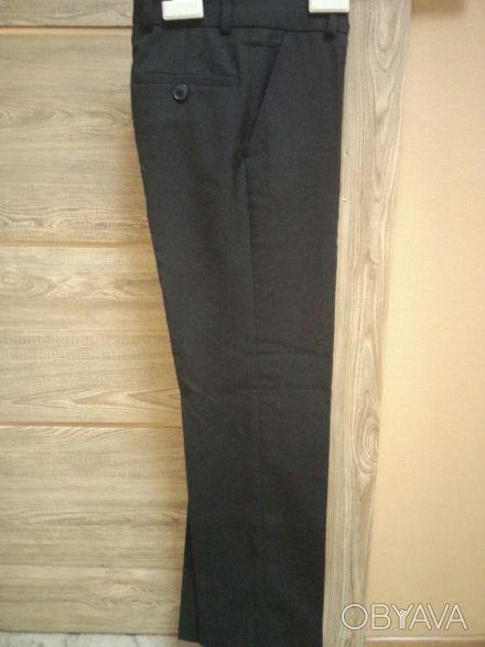 Продам НОВЫЕ детские школьные брюки для мальчика, размер 28/2, 45% шерсть, 35% в. Харьков, Харьковская область. фото 1