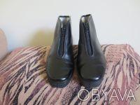 Універсальні імпортні черевики (ботинки) нові чорного кольору. Тернополь. фото 1